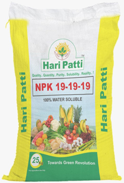 NPK 19-19-19 (WATER SOLUBLE FERTILIZER)